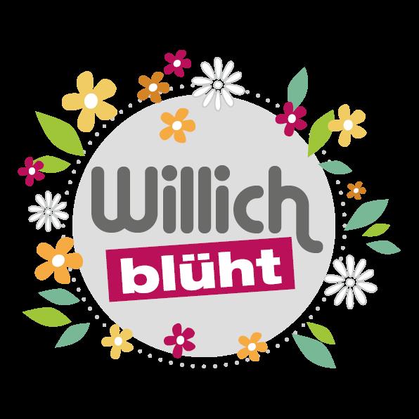 Willich blüht - Logo